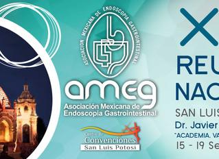XLVI Reunión Nacional AMEG Asociación Mexicana de Endoscopia Gastrointestinal del 15 al 19 de Septie