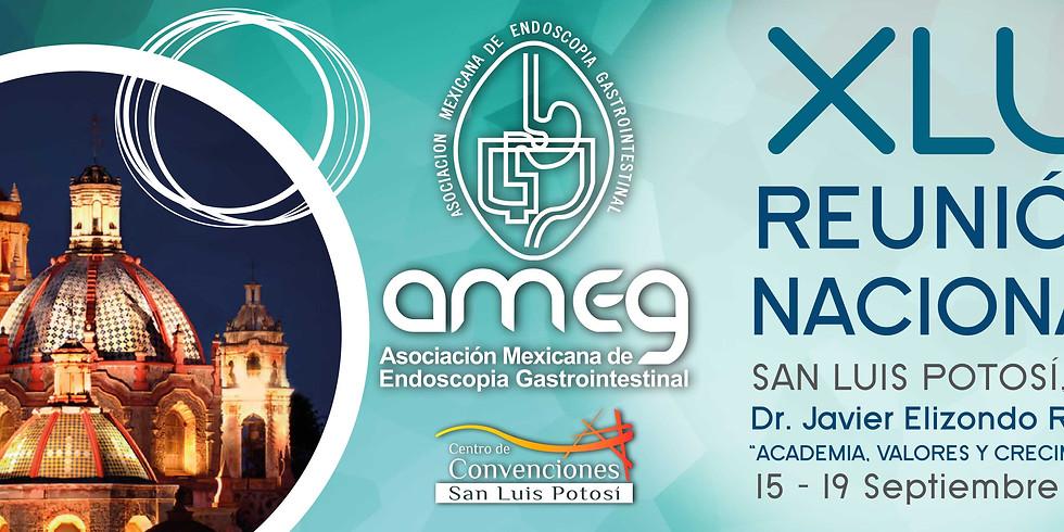 Reunión Nacional AMEG Asociación Mexicana de Endoscopía Gastrointestinal