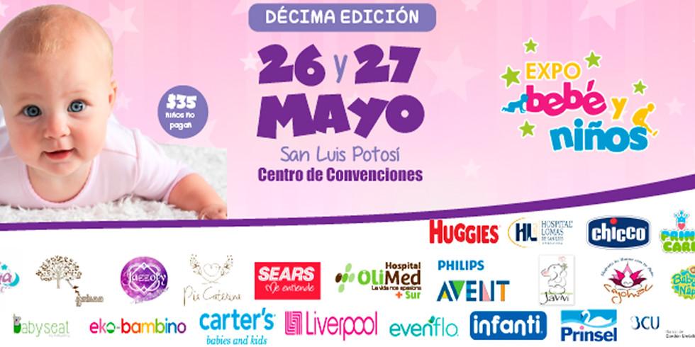 Expo Bebé y Niños San Luis Potosí -10° Edición