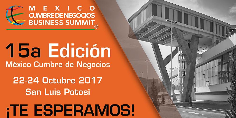 15a Edición México Cumbre de Negocios