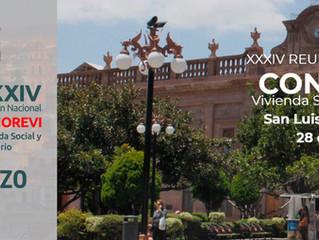 XXXIV Reunión Nacional CONOREVI Vivienda Social y Territorio