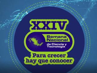 XXIV edición de la Semana Nacional de Ciencia y Tecnología