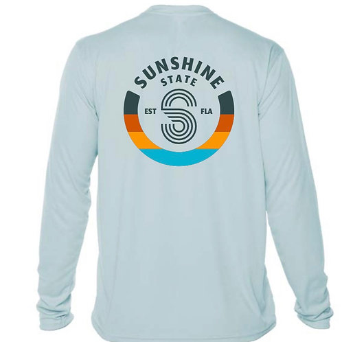 S Badge Mens long sleeve solar shirt