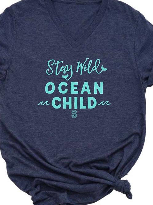 Ocean Child unisex V-neck Tee