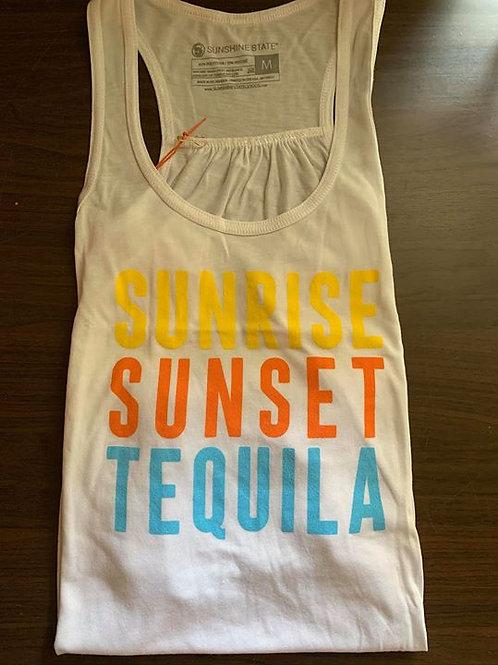 Sunrise Sunset Tequila Flowy Tank
