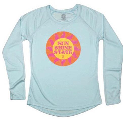 Shine Long Sleeve Ladies solar shirt