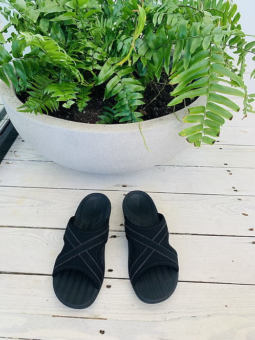 Fusion Women's Slides - Black