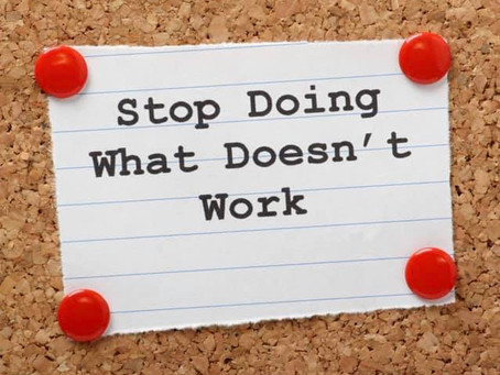 Stop doing what doesn't work! What to do if running is not an option.