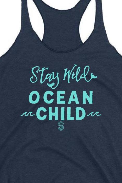 Ocean Child Triblend Women's Tank