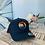 Thumbnail: Yupong Trucker Hat - Florida Sunset -Navy/Navy