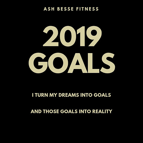YOUR 2019 GOAL PLANNER