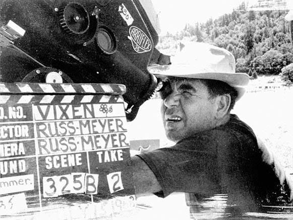 Russ directing Vixen.