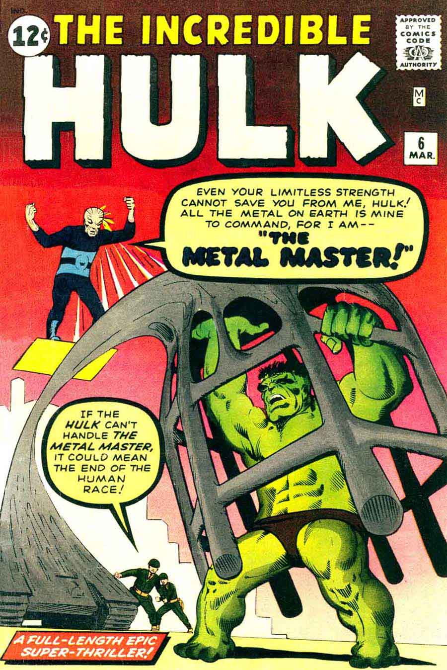 The Hulk Vs. The Metal Master