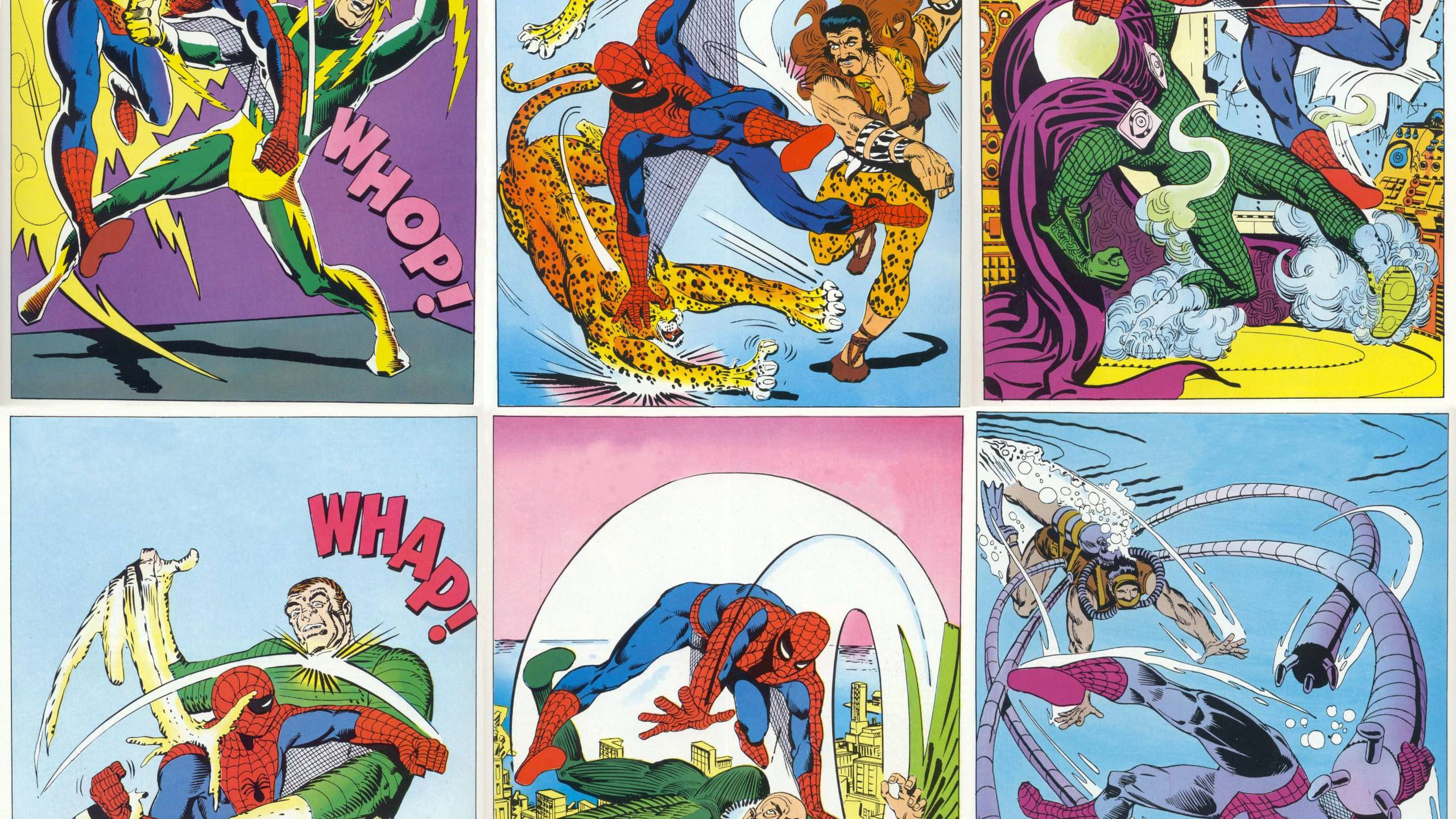 Spidey Vs. The Sinister Six