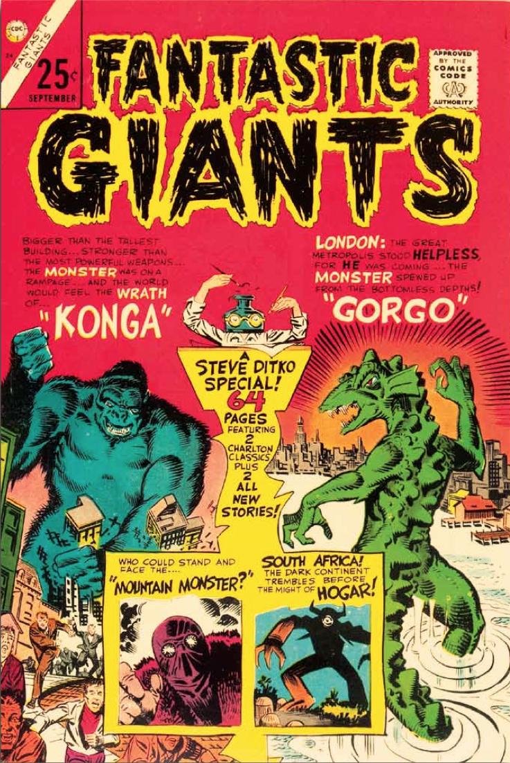 Konga and Gorgo