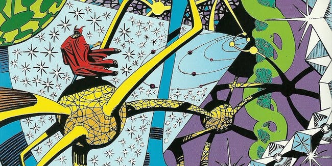 Ditko's psychedelica without drugs