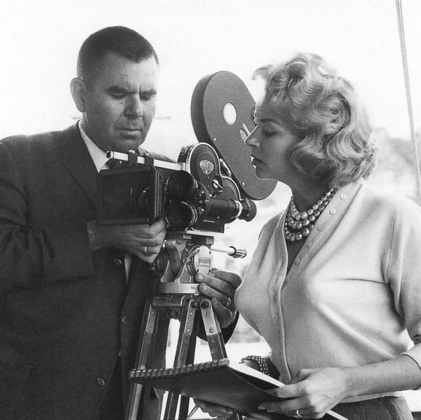 Russ with Eve Meyer
