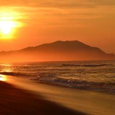 Халактырский пляж.