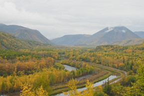 Река Быстрая( Эссо)
