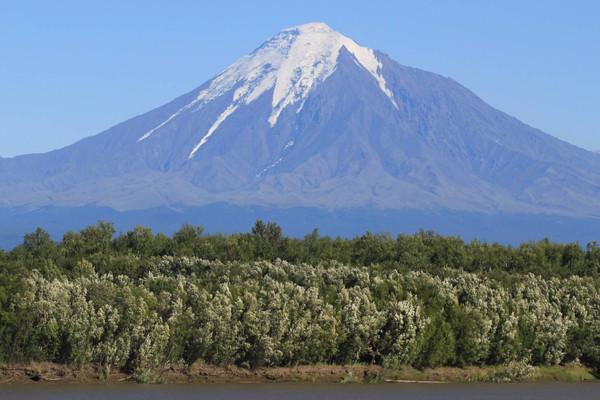 Вулкан Острый Толбачик.