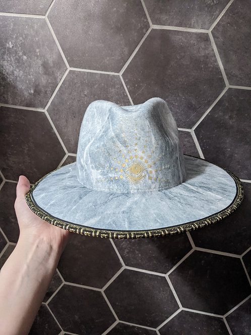 Aqua Eye Wide Brim Hat