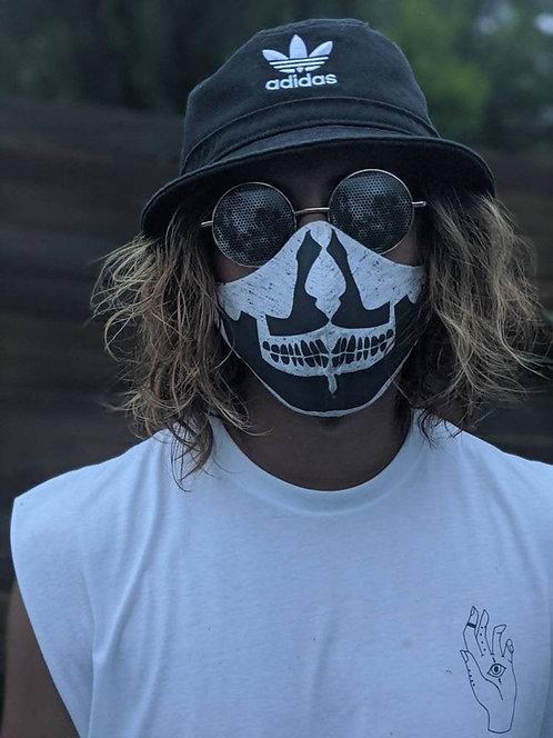 Reflective Skull Mask