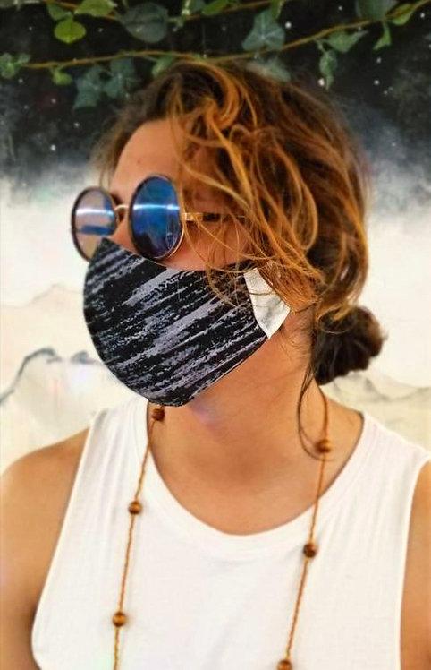 Marble Stripe Mask