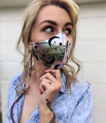 Holographic Moon Mask