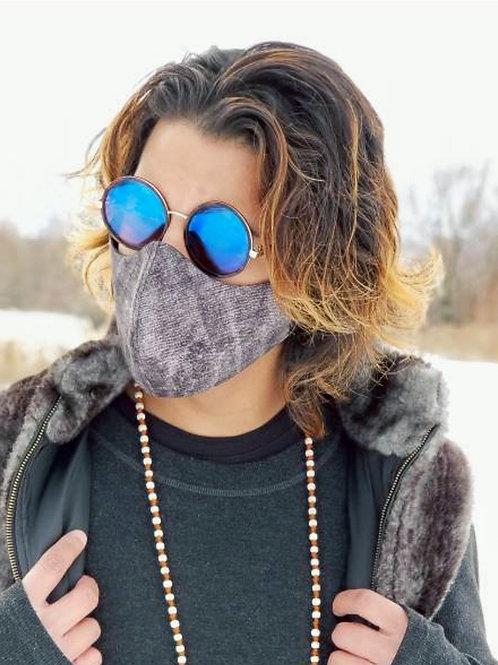 Charcoal Cotton Mask