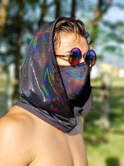 Black Iridescent Hood