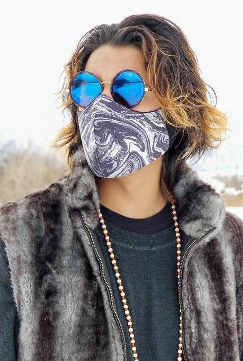 Oil Slick Cotton Mask