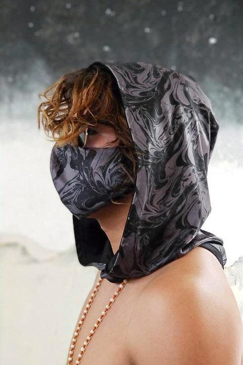 Gray Oil Slick Hood