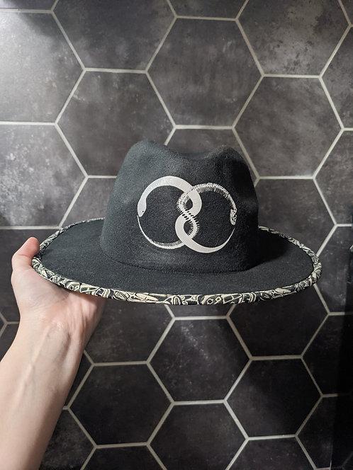 Ouroboros Reflective Snake Hat