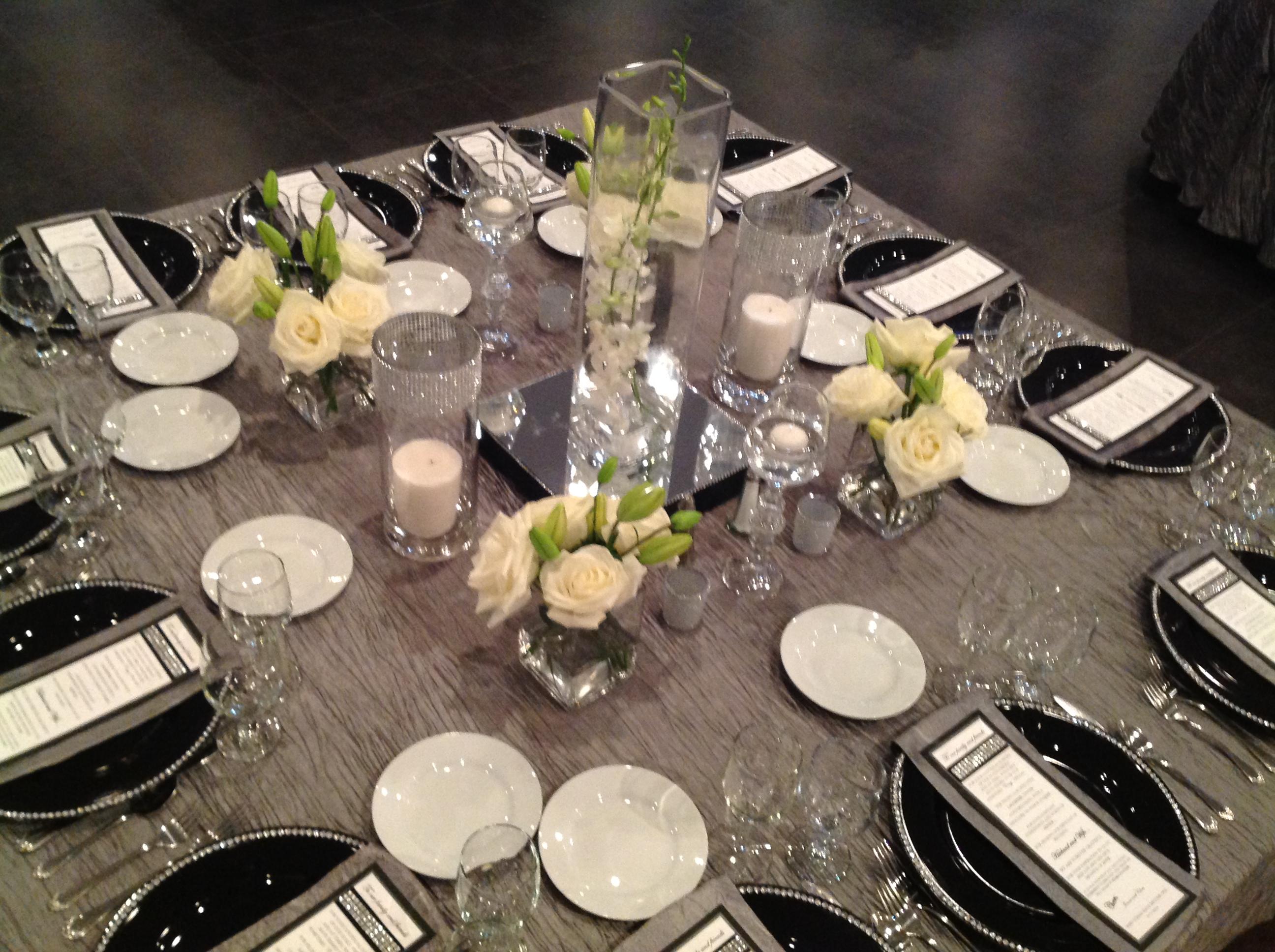 Elegant Upscale Table Setting