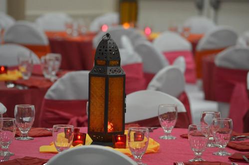 Arabian Nights Centerpieces