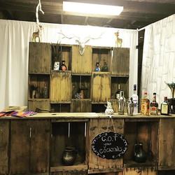 Rustic Bar Set-up