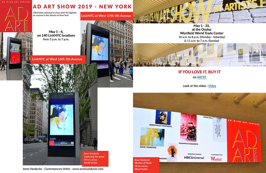 Ad Art Show 2019 - LinkNYduring Frieze A