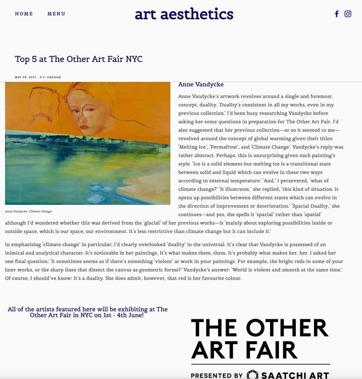 Art Aesthetics Article