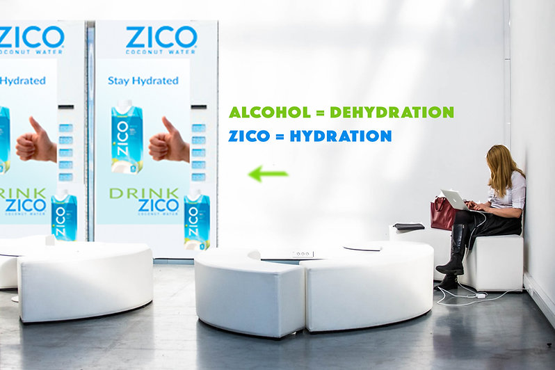 Anne Vandycke - Zico Lounge experience