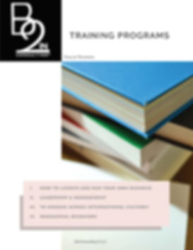 B2IN CONSULTING - Training English 2019_