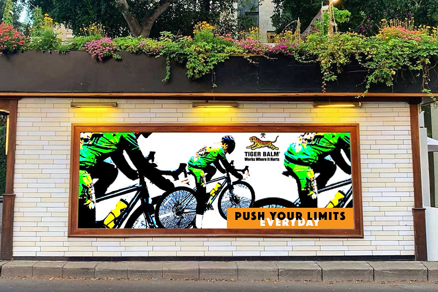 Anne Vandycke - Tiger Balm Billboard