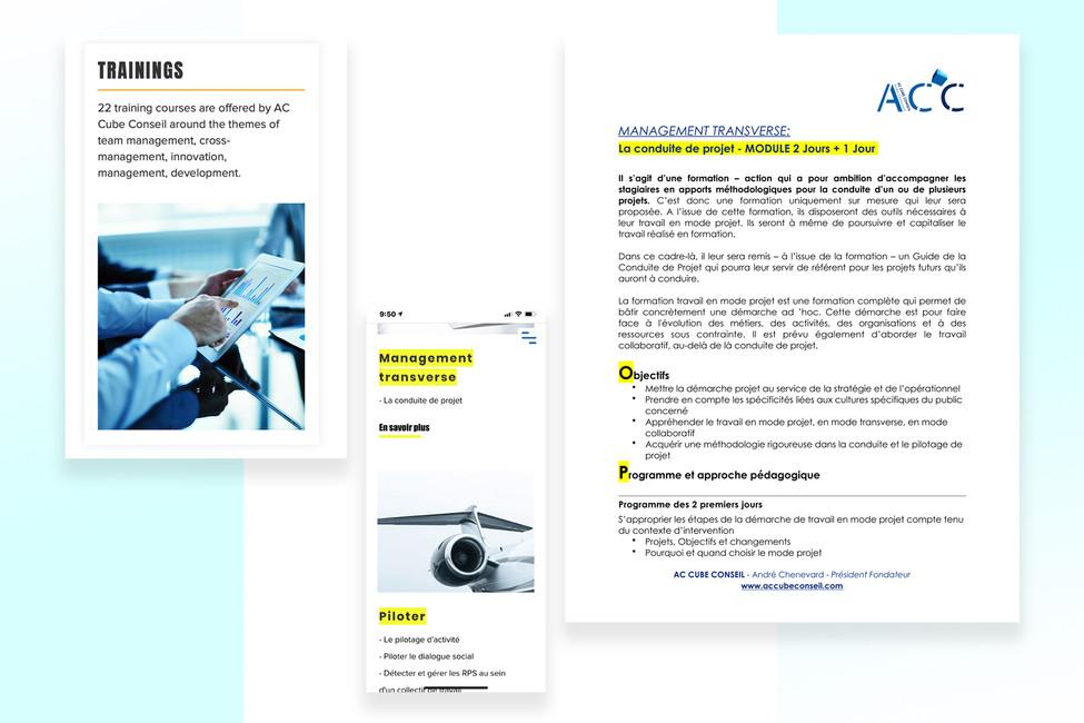 Anne Vandycke for ACCube - Presentation
