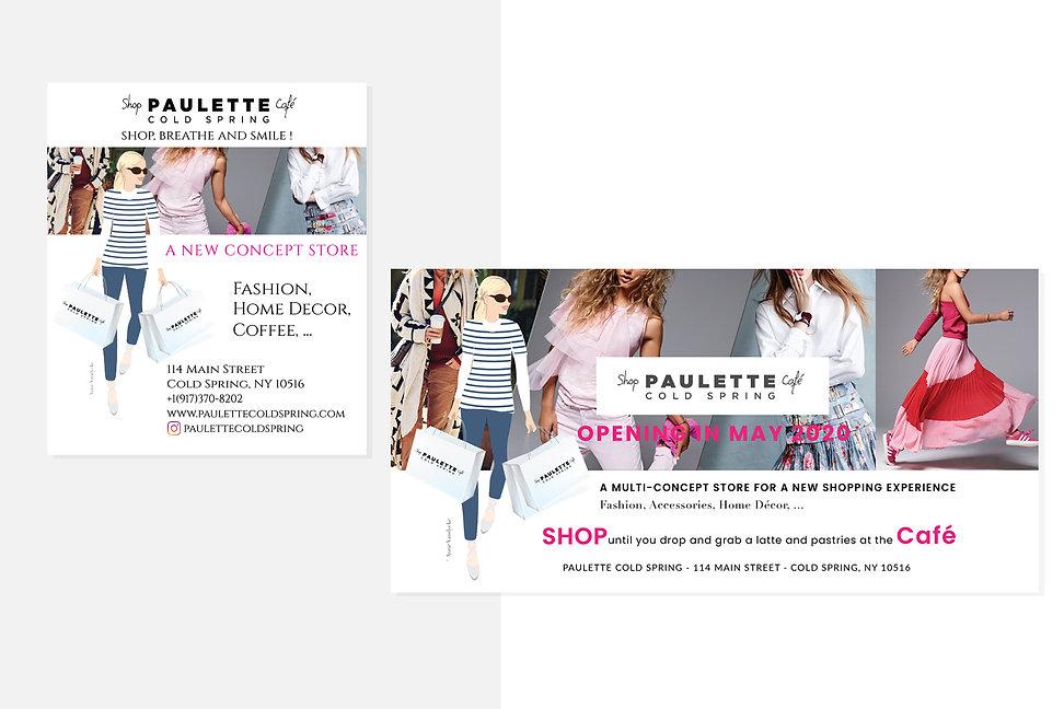 Anne Vandycke for Paulette - Advertiseme