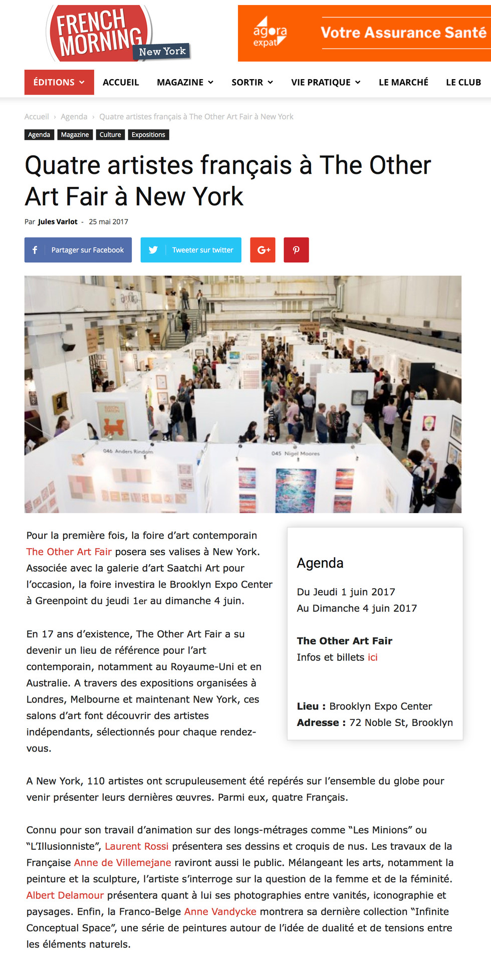 French Morning - The Other Art Fair