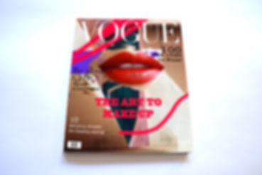 Anne Vandycke - Cover magazine Vogue moc