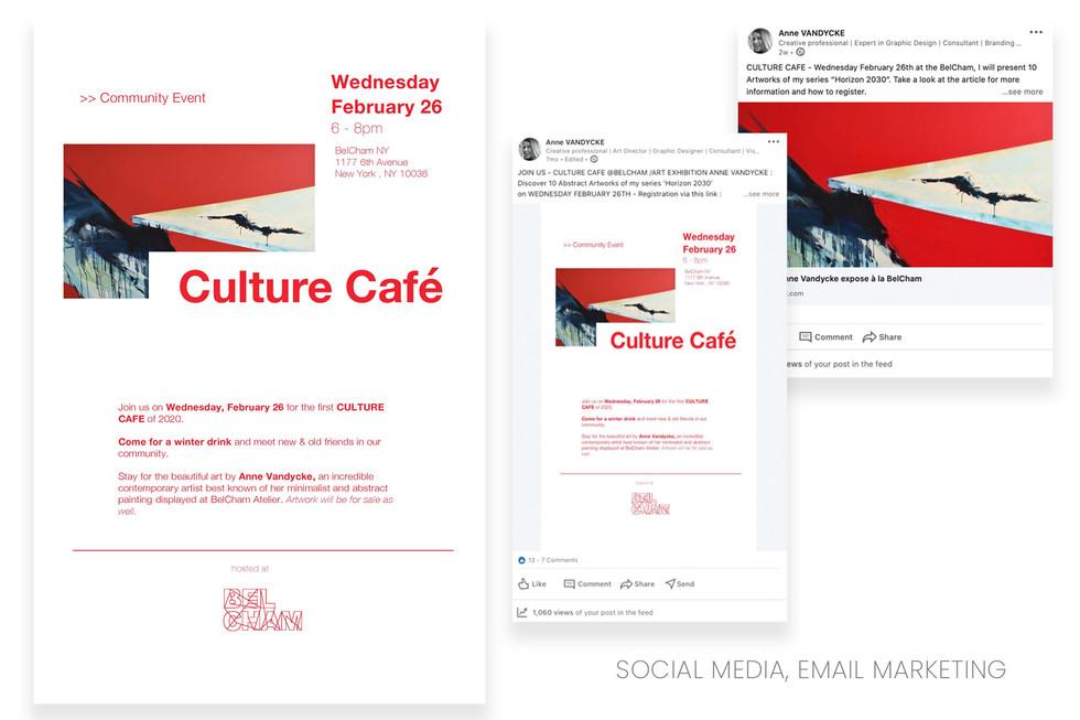 SOCIAL MEDIA, EMAIL MARKETING