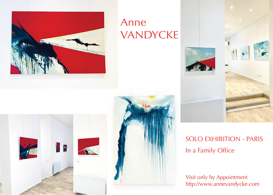 Anne Vandycke - Solo Exhibition in Paris