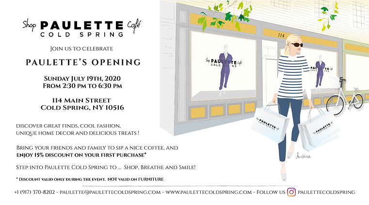 Invitation Opening Paulette Cold Spring
