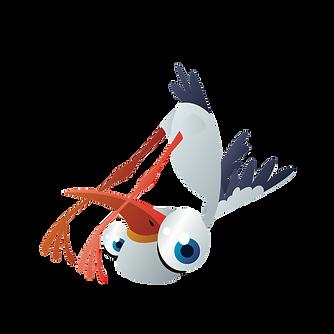 Kinderyoga storch