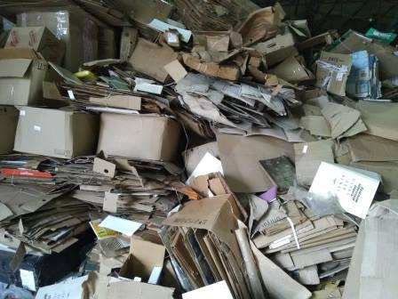 Как подготовить картон и макулатуру для сдачи в переработку